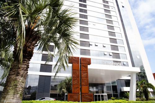 Sede - Edifício Axis Office, na Nova Carlos Gomes