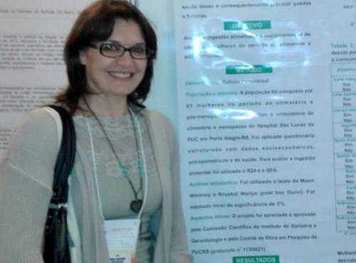 Sônia Barbieri Coutinho: a alimentação balanceada e a prática de exercícios físicos
